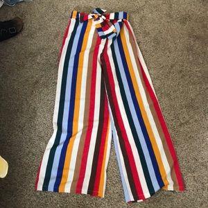 Colorful flow pants